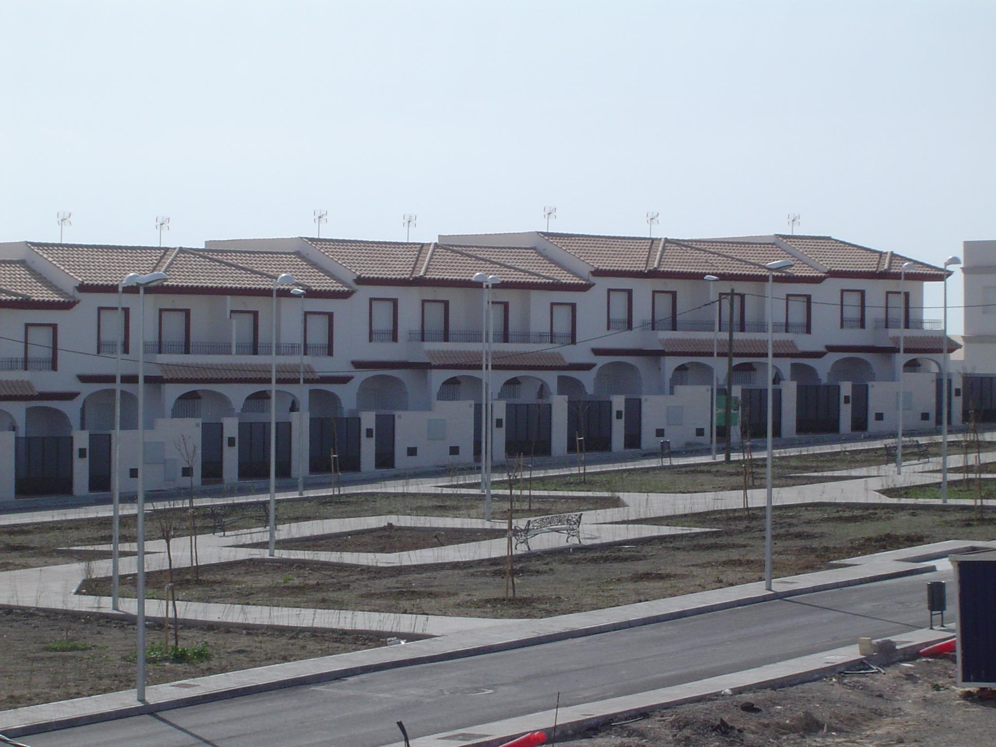 Construcci n de 23 viviendas unifamiliares adosadas libres - Construccion viviendas unifamiliares ...